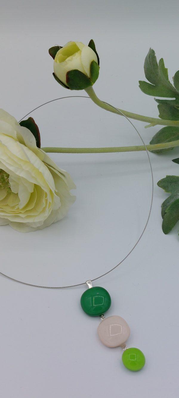Pendentif verre murano